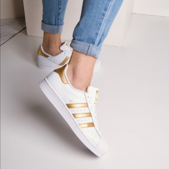 Adidas Women Superstar Sneaker White